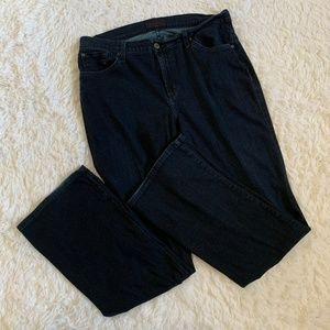 James Jeans Slim Boot Curvy 16 Dark Wash Jeans